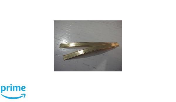 b829c436a Clips de cierre, 100 unidades, extralarga de papel color oro con doble  alambre, cierre Cierre de clips, cierres, bolsa, ideal para bolsas de  celofán y ...