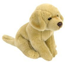 "Toys ""R"" Us Plush 9 Inch Yellow Labrador - Tan"