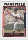 2005 Topps Baseball Card # 74 Tim Wakefield Boston Red Sox