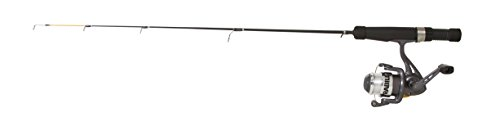 Frabill Odin Spinning Reel Fishing Combo, Black, 28-Inch/Dead Stick