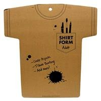 Adult Cardboard Shirt FormNew by: CC