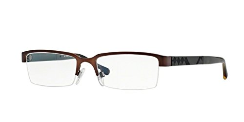 Burberry Men's BE1267 Eyeglasses Matte Brown ()