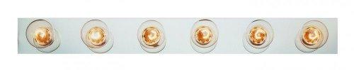 Trans Globe-Six Light Brushed Nickel Vanity-3006 BN