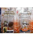 Star Wars-Yoda & Clone Trooper Commander (yellow)