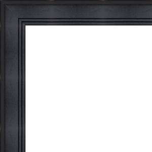 135x40 135 X 40 Contemporary Black Solid Wood Frame With Uv