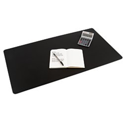 Office Depot Ultra-Smooth Writing Surface with Microban(R), 19 3/10in. x 35 2/5in, Black, LT61-2M-OD