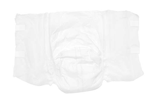 Unicare Adult Briefs. Pack of 18 Adult Diaper Briefs. Large Size 45 - 58. Premium Quality. 100% Organic. Adult Incontinence Care for Men, Women. Unisex Sanitary Hygiene. Maximum Absorbency Diapers.