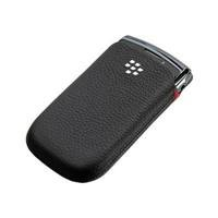 RIM HDW-42813-001 RIM BlackBerry Leather Pocket without Clipor Closing Mechanism Black - 1 Pack - Carrying Case - Retail Packaging