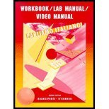 img - for Workbook/lab Manual/video Manual: Used with ...Branciforte-Parliamo italiano! by Suzanne Branciforti (2001-12-18) book / textbook / text book