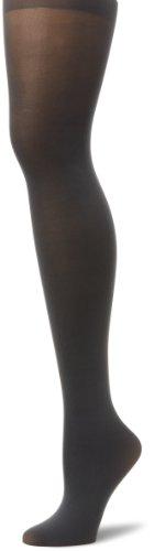 Hanes Silk Reflections Women's Opaque Tight, Grey, E/F