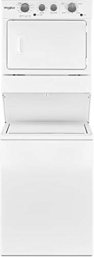 - 'Whirlpool 3.5 Cu. Ft. White Gas Stacked Laundry Center'