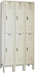 Lyons Metal Prod (Govt Sales)., 1-Wide Locker, H5202, Size Wxdxh: 12