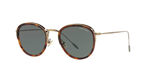 Giorgio Armani Man Sunglasses, Tortoise Lenses Metal Frame, ()