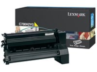 LEX C780 C782 YELLOW HIGH YIELD (C782 Yellow Print Cartridge)
