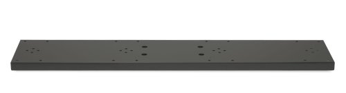 [Architectural Mailboxes Quad Spreader Plate Black] (Oasis Drop Box)