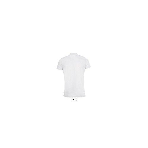 SOL´S Mens Sports Polo Shirt Performer, S, White