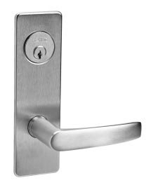 - Corbin Russwin ML2024-ASM Entrance/Storeroom Mortise Lock Armstrong Lever/Escutcheon Trim w/ Cylinde
