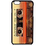 Gotg Awesome Mix Vol 1 iPhone 6 Case / iPhone 6s Case (Black Plastic)