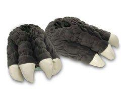 Toy Vault Godzilla Feet Plush Slippers by Toy Vault