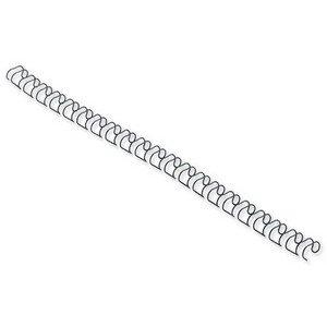 Gbc Binding Wire Elements - GBC Binding Wire Elements 21 Loop 100 Sheets 12mm Black Ref 165320 [Pack 100]