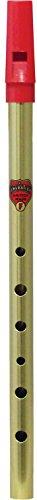 Flageolet 6586 F Brass Whistle