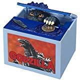 Alien Tech Musical Electronic Godzilla Monster Moving Chirldren Coin Bank Piggy Bank Money Saving Box