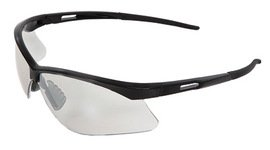 Radnor Premier Series Readers 2.0 Diopter Safety Glasses with Black Frame and Clear Polycarbonate Lens (6 ()