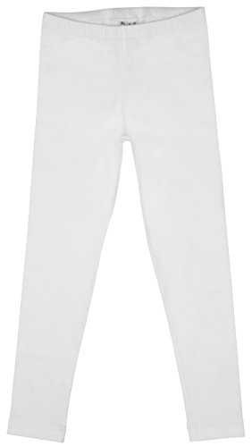 Back From Bali Little Girls Leggings White Large ()