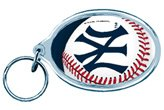 Wincraft MLB 89472941 New York Yankees Acrylic Carded Key Ring
