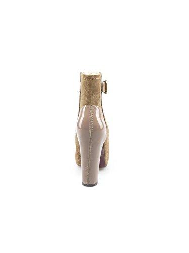 Stiefel amp; Stiefeletten jo Damen Light Wood liu 1pqBvx