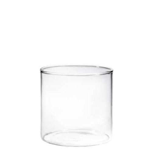 Borosil VCLT305 Vision Classic Large Tumbler [Set of 6] - Clear Lightweight & Durable Drinkware, Odor Resistant, Dishwasher Safe - For Water, Juice, Beer, Wine, and Cocktails |10 Ounce - Ounce 10 Cocktail