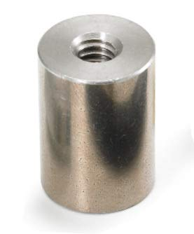 3//16 OD x 5//16 L x 2-56 Thread Stainless Steel Female//Female Round Standoff 250 //Pkg.
