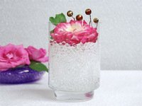 ANGEL WHITE -Jelly BeadZ® Crystal Water Gel Beads for Wedding Party Decor Crystal Soil Jelly Balls Water Pearls Vase Filler Centerpieces 20 Bags