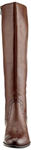 21 mocca High Boots Women's Tamaris 304 Brown 25541 PqZUEp