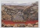 Plateosaurus (Trading Card) 2015 Upper Deck Dinosaurs - [Base] - Extinction Red #63