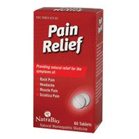 Natra-Bio Pain Relief 60 tab ( (Natra Bio 60 Tabs)