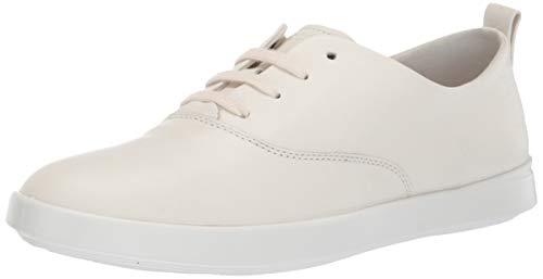 ECCO Women's Women's Leisure Tie Sneaker, Shadow White, 36 M EU (5-5.5 US) ()