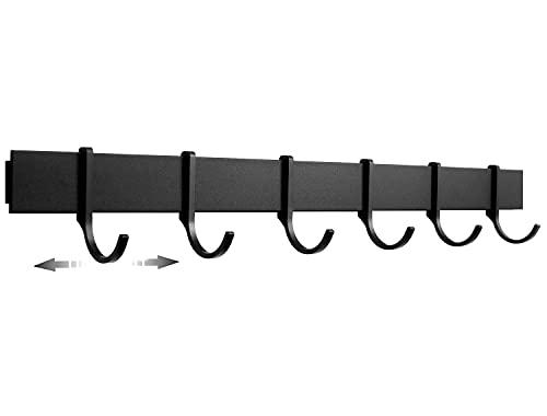 21bK5QOMAtS Designfabrik Hamburg | Hakenleiste Küchenleiste selbstklebend Hängeleiste Stange für Küchenutensilien | Küchenhalterung…