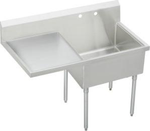 Elkay Wnsf8136l2 Weldbilt Scullery Sink Single