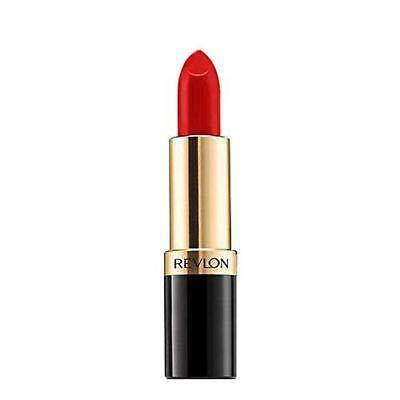 Revlon Super Lustrous Matte Lipstick, Really Red 0.15 oz (Pack of 4)