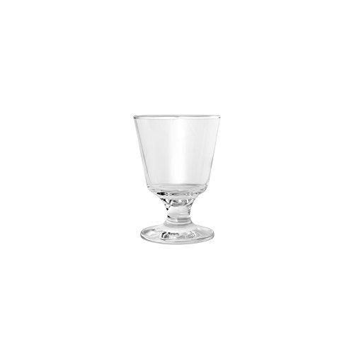 Hospitality Glass Brands 44822-012 Capri 5.5 oz. Footed Rocks Glass (Pack of - Footed Bottle