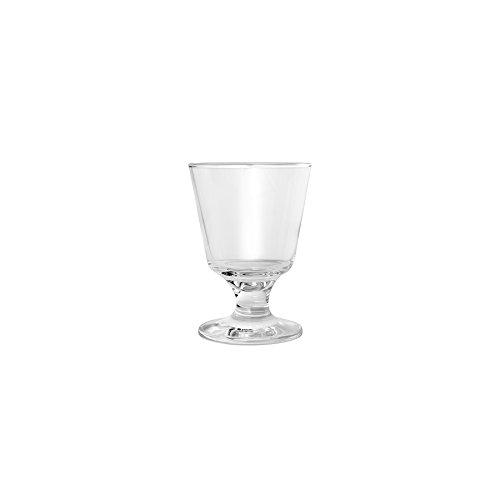 Hospitality Glass Brands 44822-012 Capri 5.5 oz. Footed Rocks Glass (Pack of 12) ()