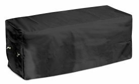 KoverRoos Weathermax 74214 6-Feet Garden Seat Cover, 72-Inch Width by 28-Inch Diameter by 18-Inch Height, Black