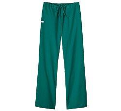 White Swan Flare Leg Pant (Fundamentals by White Swan Women's Drawstring Flare Leg Scrub Pants X-Small Jade)