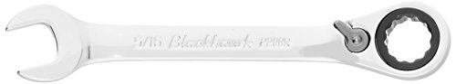 Blackhawk By Proto BW-2208R 12 Point Combination Stubby Reversible Ratcheting Wrench, 5/16-Inch ()