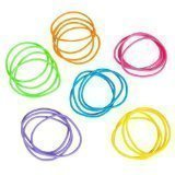 Rhode Island Novelty Neon Jelly Bracelets - Assorted Colors (4-Pack of 144)