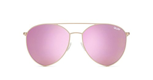 Quay Australia INDIO Women's Sunglasses Jasmine Aviator Teardrop - - Sunglasses India