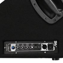 Active 15 Inch PA/DJ Floor Monitor - Amplifier View