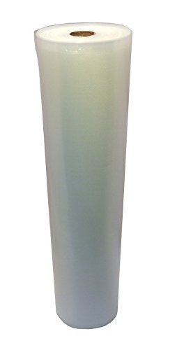 15''x50' Vac-Fresh Roll Vacuum Seal Bags for Vacuum Sealers - Full Case of 12 Rolls