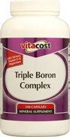 Vitacost bore Triple Complex - 240